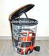"""Набор ведер с педалью """"London"""" (6 л, 10 л, 17 л) Elif Plastik, Турция, фото 5"""