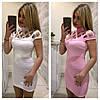 Платье  сетка на плечах стрейч трикотаж, фото 7