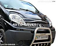 Защитный обвес переднего бампера Opel Vivaro