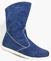 Весна сапоги женские большие размеры, женская обувь 40-44 от производителя модель МИ4067-7