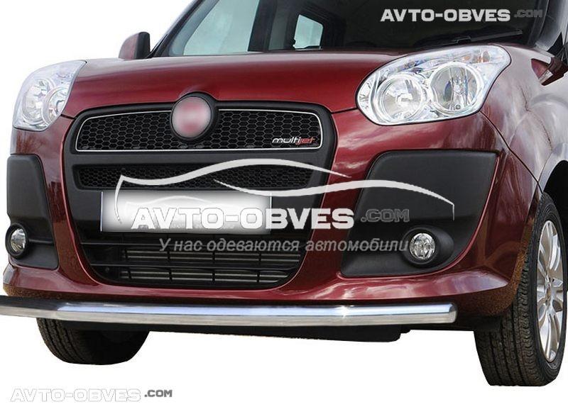 Штатный кенгурятник прямой ус для Opel Combo 2012-2018 (п.к. V001)