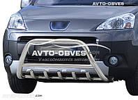 Защита бампера Peugeot Partner