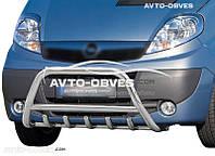 Дуга переднего бампера для Renault Trafic