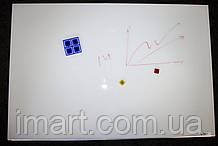 Cтеклянная магнитно-маркерная доска 45х60 Tetris. Скрытое крепление