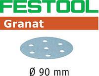 Шлифовальные круги Granat STF D90/6 P40 GR/50 Festool 497363, фото 1