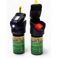 Газовый баллончик для самообороны Шип-1 LED: морфолид пеларгоновой кислоты, 104х55 мм, LED диод