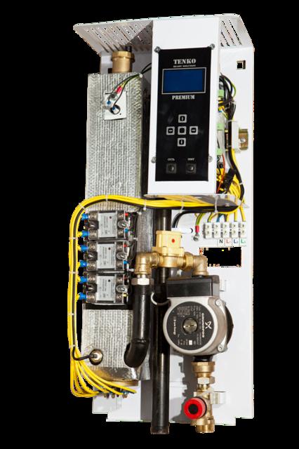 Котел электрический Tenko Премиум 15 кВт 380V (насос Grundfos)