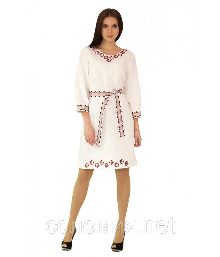 e2403851dad728 Плаття вишите жіноче Біле 42-52 рр, цена 881 грн., купить Київ ...