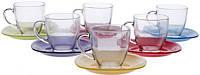 Набор чайный 12пр. Carina Rainbow 5978j