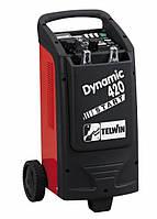 Пуско зарядная тележка для акб 12-24В TELWIN Dynamic 420 START Италия