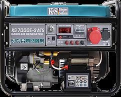 ⭐ Генератор бензиновый (5,5 кВт) Könner&Söhnen KS 7000E-3 ATS