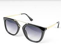 Женские солнечные очки Prada Cinéma черные  , магазин очков