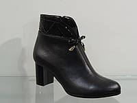 Женские ботинки на не большем каблуке 39