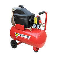 Компрессор FL-24 - 8 атм. 1,5 кВт, вход: 203 л.мин, ресивер 24 л. FORTE