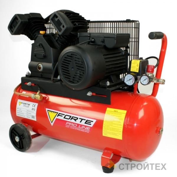 ⭐ Компрессор V-0.4/50 - 10 атм. 2,2 кВт, вход: 420 л/мин, ресивер 50 л. FORTE