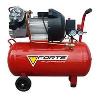 Компрессор VFL-50 - 8 атм. 2,2 кВт, вход: 420 л/мин, ресивер 50 л. FORTE