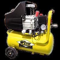 ⭐ Компрессор BM-2Т24N - 8 атм. 1,5 кВт, вход: 200 л/мин, ресивер 24 л. WERK