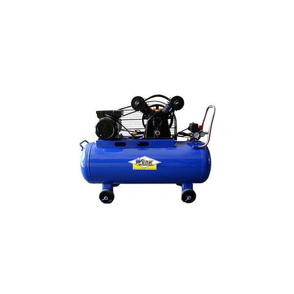 Компрессор VBM-0.4-100 WERK - 10 атм. 2,2 кВт, вход: 420 л/мин, ресивер 100 л. WERK