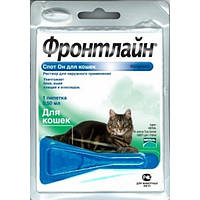 Merial  Frontline Spot-On - капли на холку для кошек 1шт