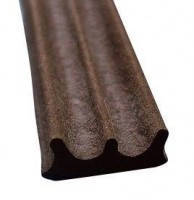Универсальный уплотнитель Stomil Sanok с самоклеющейся лентой (Е-профиль , 9х4 мм коричневый) 150 м