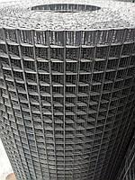Сварная оцинкованная сетка 12*12  Д/п 1,4мм (ширина 1м) длина 25м