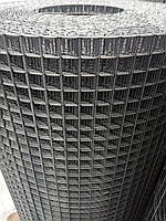 Сварная оцинкованная сетка 12*12  Д/п 0,8мм (ширина 1м) длина 25м