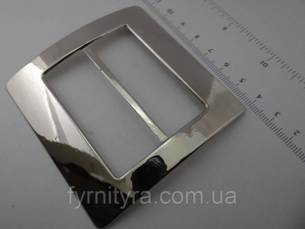 Пряжка металлическая 55мм 012 никель