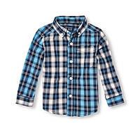 Рубашка для мальчика Childrenplace клетка