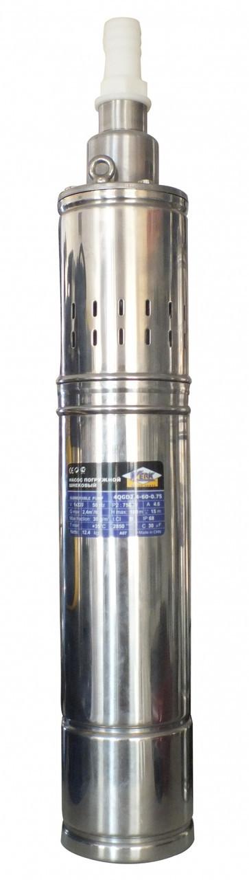 Насос - 4QGD1.2-50-0.37 + Захист від роботи насухо DSK 1 (W)