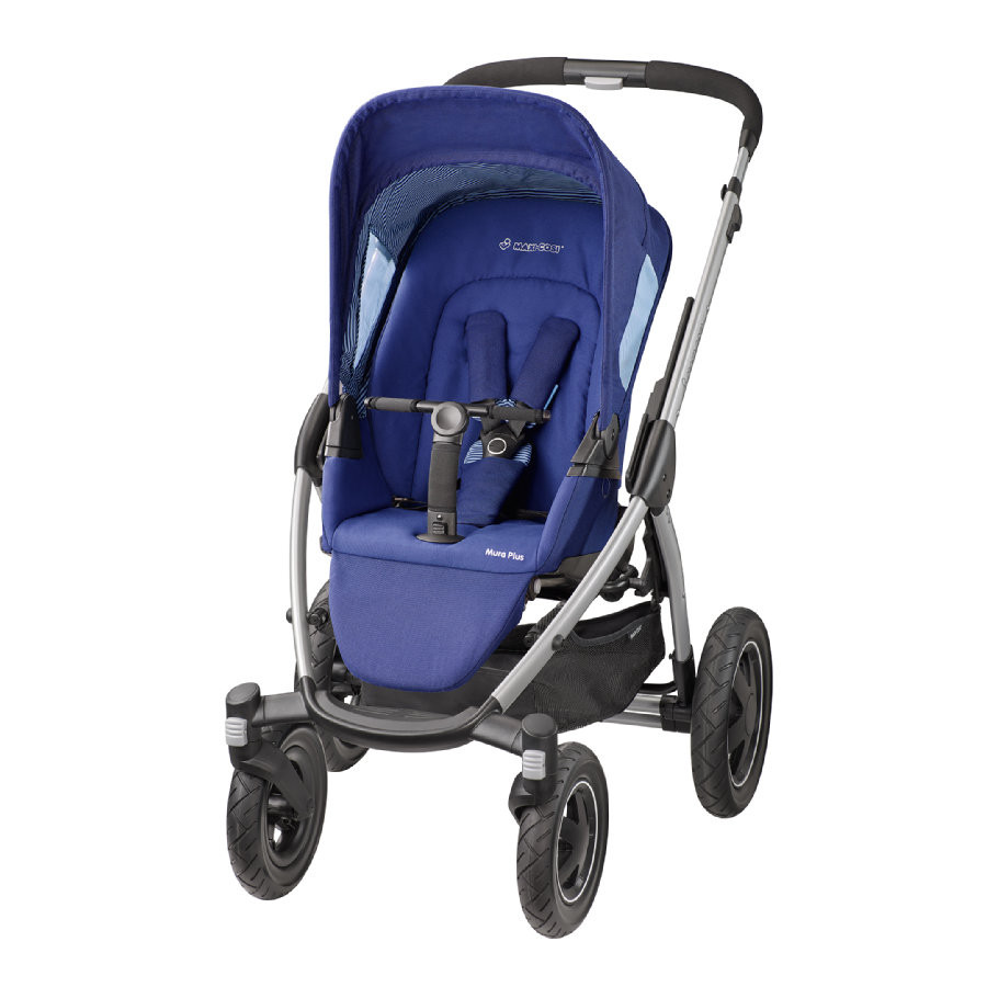 Прогулочная коляска «Maxi Cosi» Mura Plus 4, цвет River Blue (синий) (78208970) «Maxi Cosi» (78208970)