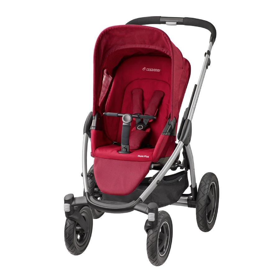 Прогулянкова коляска «Maxi Cosi» Mura Plus 4, колір Red Robin (темно-червоний) (78208990) «Maxi Cosi»