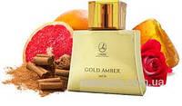 """Мужская туалетная вода """"Gold Amber Men"""" Lambre / Ламбре 75 мл"""