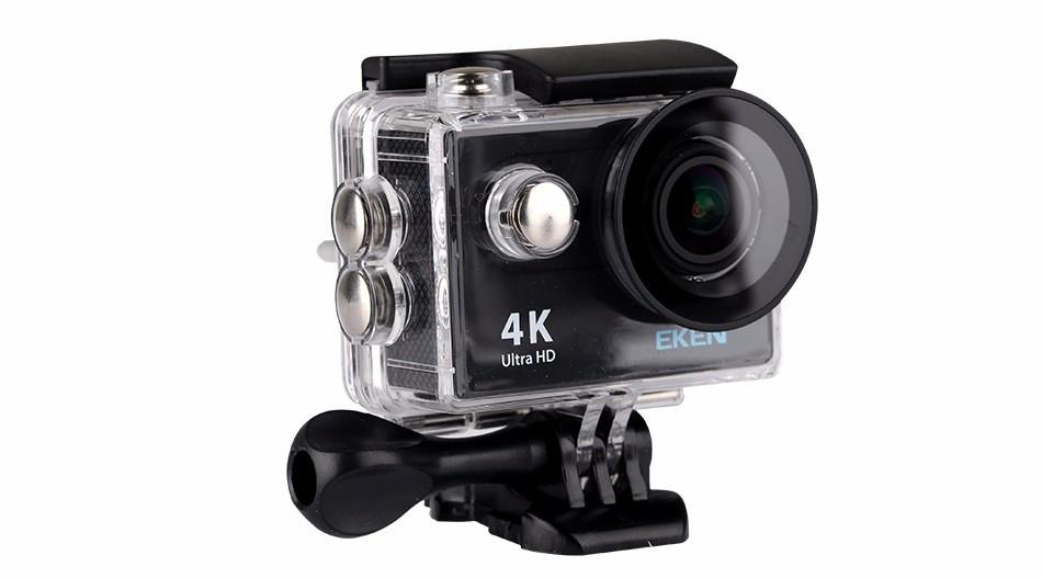 Экшн камера EKEN H9 ULTRA HD 4K WI-FI (Black)