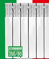 Радиатор алюминиевый Italclima 350/80/80 (10 секций)