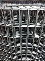 Сварная оцинкованная сетка 50*25  Д/п 1,4мм (шир/рул 1м) длина 25м