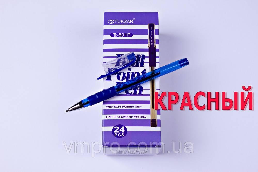Ручки шариковые TUKZAR TZ-501P,красный,1.0 mm,24 шт/упаковка
