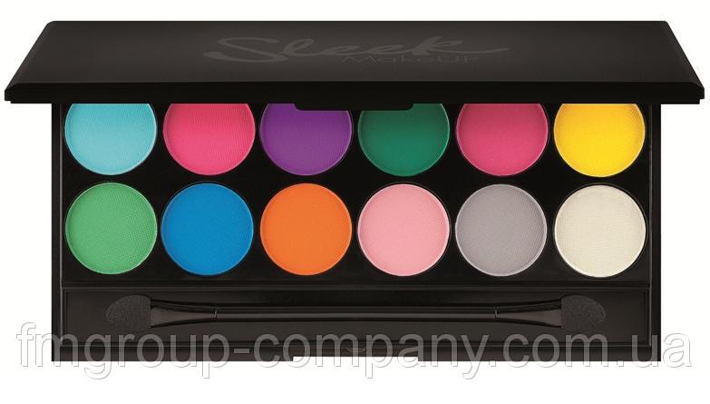 Sleek Ultra Matte Brights V1 палитра для макияжа Матовая
