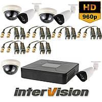 Комплект видеонаблюдения KIT-OUT33801 Intervision