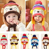Зимняя детская шапка, фото 1