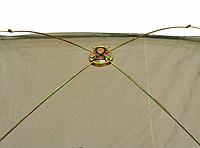 Компактный складной паук для малька (малявочник)1.3X1.3м