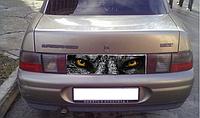 Наклейка отражатель Глаза волка