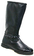 Сапоги женские кожаные весна большие размеры, кожаные сапоги женские от производителя модель МИ5178-3