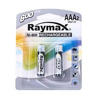 Аккумуляторы R3 Raymax 600 mA (AAA)