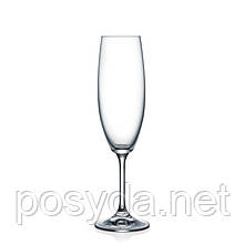 Бокал для шампанского Bohemia Lara, 220 мл (уп 6 шт)