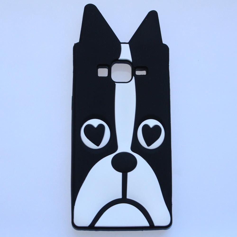Чехол 3D собака для Samsung Galaxy J5 J500