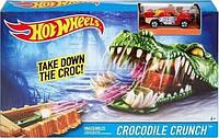 Игровой набор Hot Wheels Crocodile Crunch  dwk96  DWK94, фото 1
