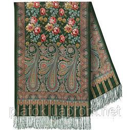 Розквітаючій камені 1442-60, павлопосадский шарф-палантин вовняної з шовковою бахромою