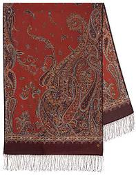Тисяча і одна ніч 1558-57, павлопосадский шарф-палантин вовняної з шовковою бахромою