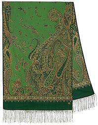Тисяча і одна ніч 1558-59, павлопосадский шарф-палантин вовняної з шовковою бахромою