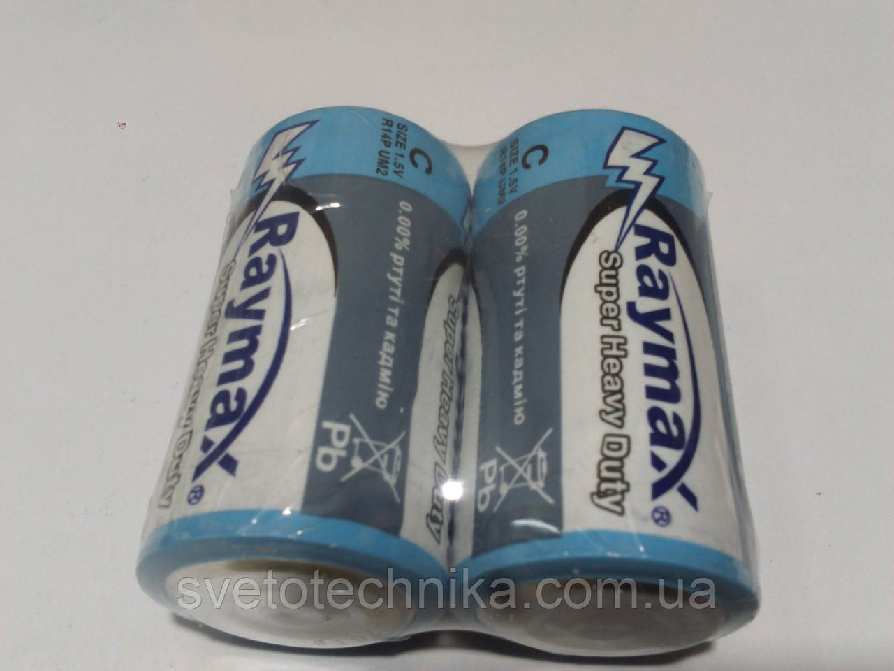 Батарейка (24шт.) Raymax C2 R14P UM2 C 1.5V